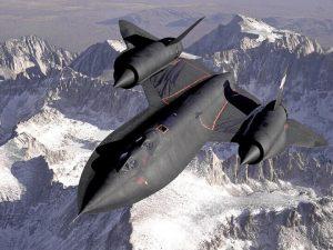 """Aereo Lockheed o """"Blackbird"""""""